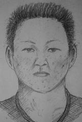 犯人の似顔絵