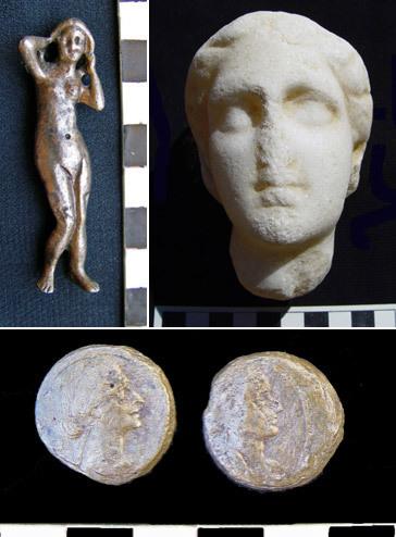 発掘された埋葬品の数々 by エジプト考古最高評議会