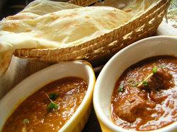 インド・カレーとナン