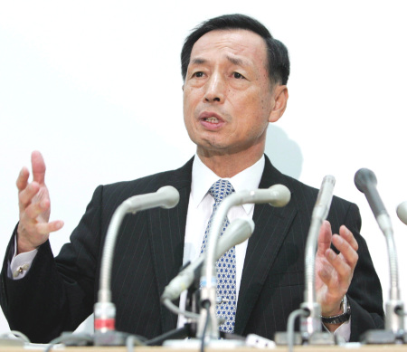論文問題で更迭、退職した田母神(たもがみ)俊雄・前航空幕僚長