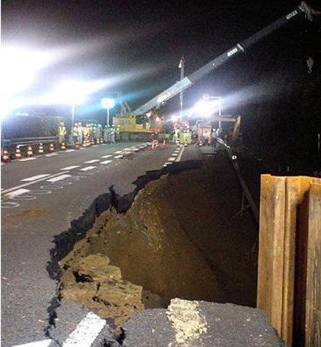 静岡県中西部・駿河湾地震災害状況